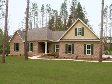 1-Story Home Plan, 001H-0099