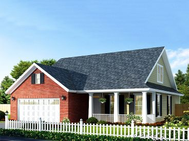 Country House Plan, 059H-0135