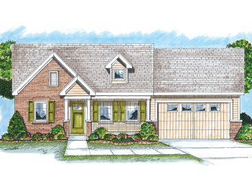 Affordable Home Plan, 050H-0023