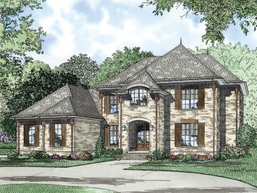 European Home Plan, 025H-0217