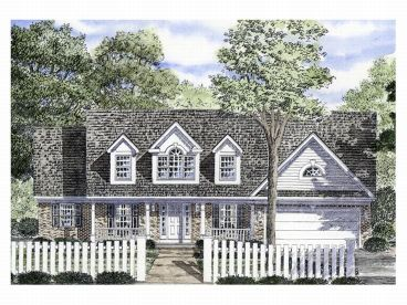 Two-Story Home Plan, 014H-0025