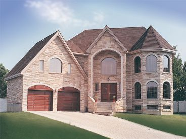 Luxury Home Plan Photo, 027H-0174