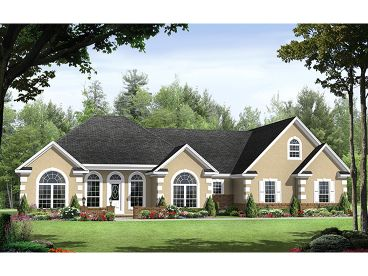 Sunbelt Home Plan, 001H-0157