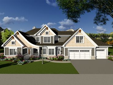 European House Plan, 020H-0423