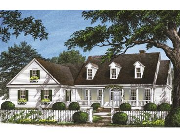 Country Home Design, 063H-0113