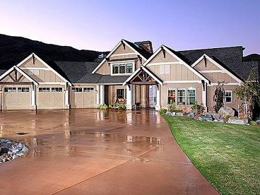 Craftsman Home Plan, 035H-0111