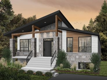 Vacation House Plan, 027H-0523