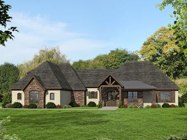 European House Plan, 062H-0101