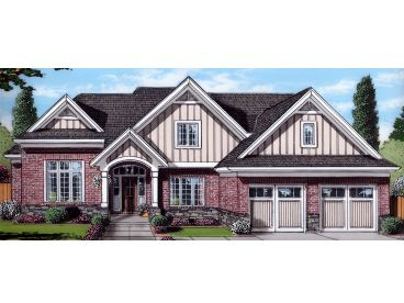Two-Story House Plan, 046H-0175