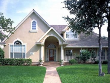 Sunbelt Home Plan Photo, 036H-0020