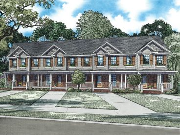 4 Unit Multi-Family Plan, 025M-0077