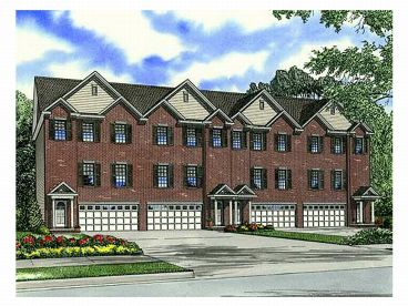 Multi-Family House Plan, 025M-0068