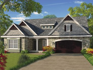 Two-Story House Plan, 031H-0291
