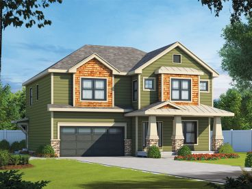 Two-Story House Plan, 031H-0294
