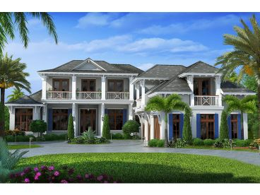 West Indies House Plan, 037H-0205