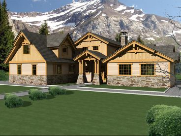 Northwest Home Plan, 012H-0120