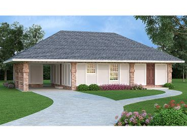 One-Story Home Plan, 021H-0240