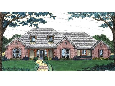 Ranch House Plan, 002H-0064