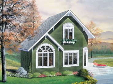 Cottage Home Plan, 027H-0363