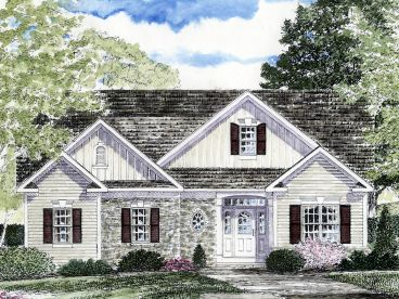 Empty-Nester House Plan, 014H-0074