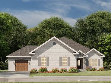 Traditional House Plan, 074H-0147
