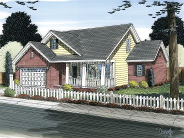 2-Story Home Plan, 059H-0140