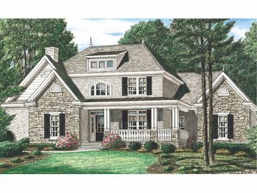 European Home Plan, 011H-0023
