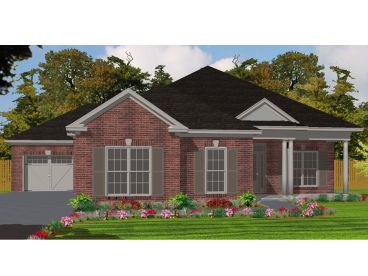 Traditional House Plan, 073H-0110