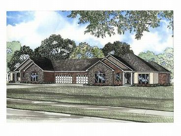 Multi-Family House Plan, 025M-0049