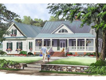 Country House Plan, 063H-0227