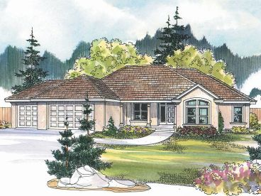 Sunbelt Home Design, 051H-0089
