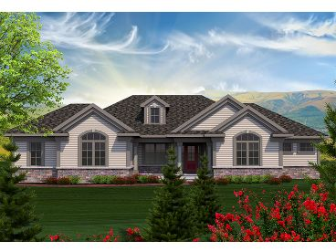 Traditional House Plan, 020H-0346