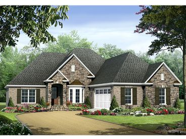 European Home Plan, 001H-0144