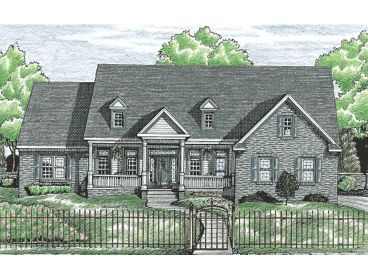 Country House Plan, 031H-0112
