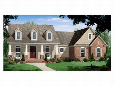 Country Home Plan, 001H-0102