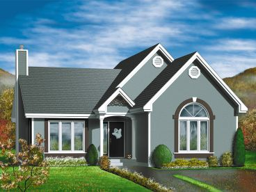 Small House Plan, 072H-0034