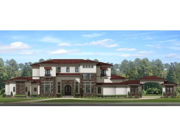 Premier Luxury House Plan: 064H-0093