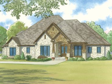 Two-Story Home Plan, 074H-0021