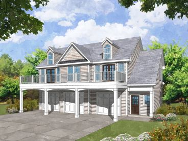 Carriage House Plan, 053G-0032