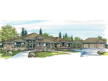 Luxury Home Plan, 051H-0065