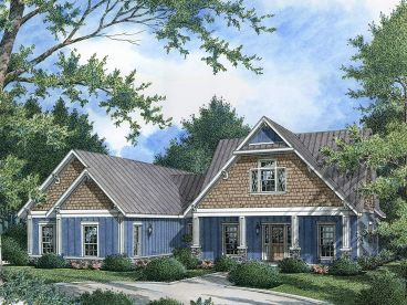 Craftsman Home Design, 021H-0235