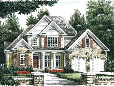 Traditional House Plan, 086H-0097