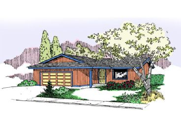 Ranch Home, 013H-0085