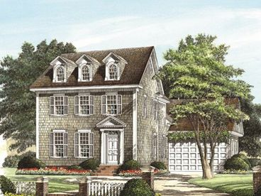 Cape Cod Home Design, 063H-0037