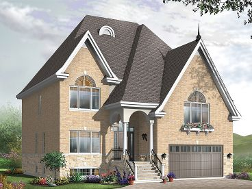 European Home Plan, 027H-0385