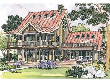 2-Story House Plan, 051H-0029