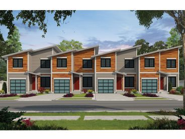 Multi-Family House Plans, Triplexes & Townhouses - The ...