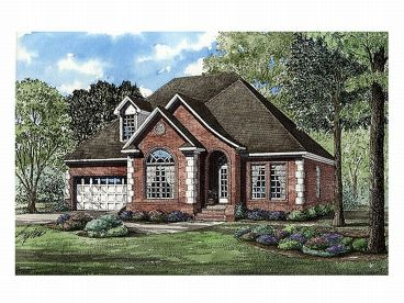 2-Story Home Plan, 025H-0067