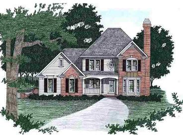 2-Story Home Plan, 045H-0015
