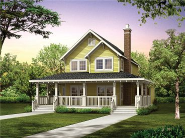 Small Country House, 032H-0096